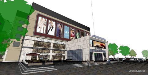 珠海民心广场装修  低成本演绎高品质