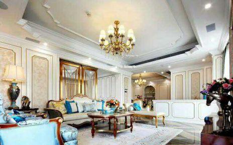重庆生活家装饰  融创玫瑰园285平法式风格别墅装修