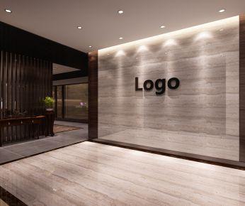 武汉福星惠誉国际城写字楼装修 中式古典办公室装修设计
