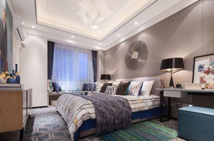武汉九坤新城壹号 现代混搭风格家庭装修设计案例欣赏