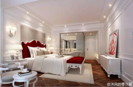武汉东湖御园 简欧时尚风三居室装修设计效果图
