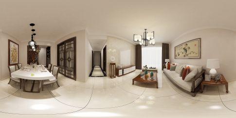 中凯装饰(西区分公司)——博达汇峰 三居室现代风格装修设计效果图