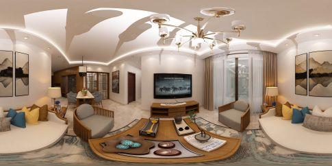 中凯装饰(西区分公司)——远洋香缇 二居室新中式风格装修设计效果图