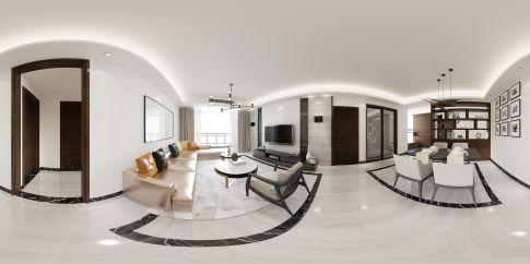 中凯装饰(西区分公司)——星港名都 三居室现代风格装修设计效果图