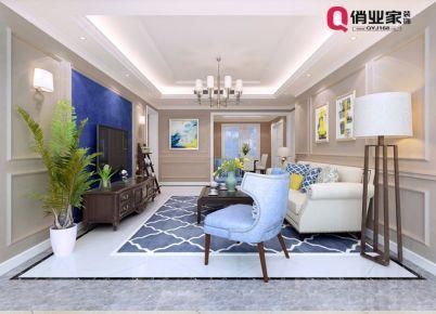 俏业家装饰|重庆龙湖花千树105平|三居室|美式风格装修