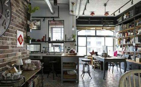 重庆生活家装饰  远洋城150平loft风格装修设计案例