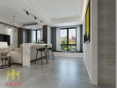 柳市三居室现代风格装修设计效果图欣赏