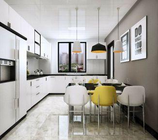 天津欧铂苑 超现代三居室装修设计效果图