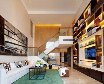 南昌香溢花城 挥毫三居室中式风格装修设计效果图