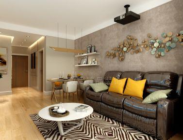 天津大河宸章日式体现 二居室日式风格装修设计效果图