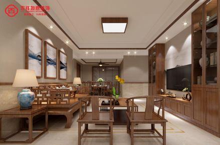 福州保利香槟国际26#*01 三居室中式风格装修设计