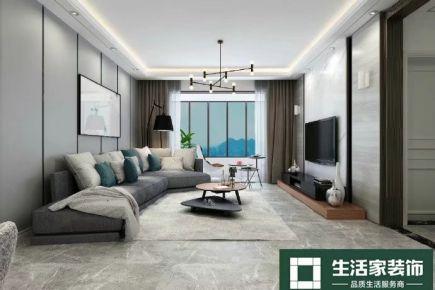 重庆生活家装饰  北大资源博雅90平现代中式装修