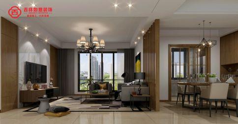 福州融侨悦城5#*04 三居室现代风格装修设计效果图