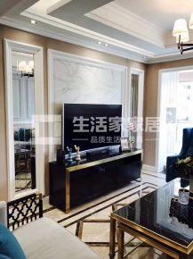 重庆生活家装饰  华润中央公园110平美式风格装修设计