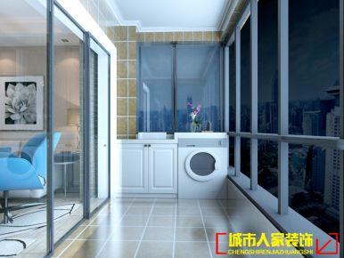洛阳大曌国际 小户型简约风格装修设计效果图