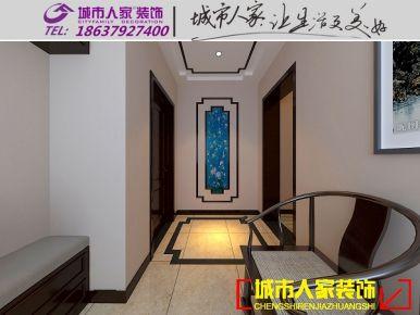 洛阳国宝花园 现代中式风格家庭装修设计