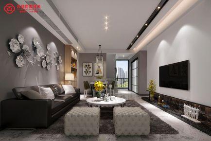 福州奥体园著3#02户型  四居室现代风格装修效果图
