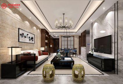福州保利香槟国际26#**02 二居室中式风格装修设计