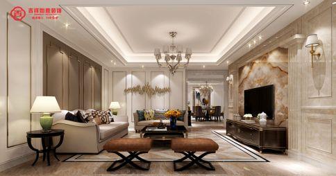 福州金辉淮安半岛A5#**01 四居室欧式风格装修设计效果图