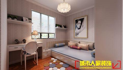 洛阳帝都国际城 四居室简约风格装修设计效果图