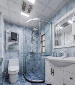 深圳东方名都  三居室欧式风格装修效果图