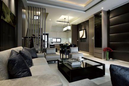 南昌世纪风情50平米loft公寓装修设计效果图