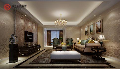 福州香开新城19#02 四居室欧式风格装修设计