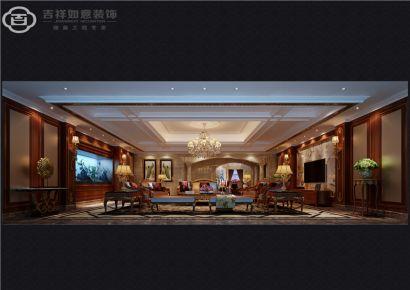 福州世茂御龙湾16#**01 四居室欧式风格装修效果图