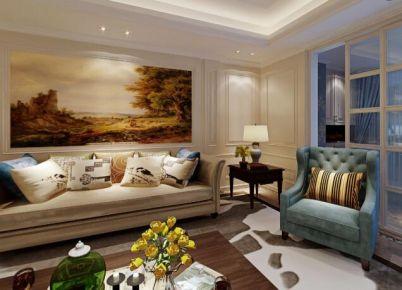福州建发国宾府5#*01 四居室欧式风格装修设计效果图