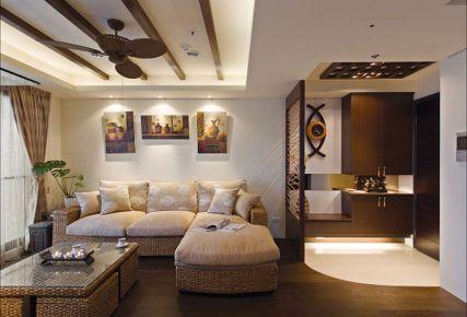贵阳广大城 67平米异国风情两室两厅装修设计