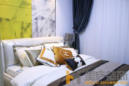泉州二居室现代风格装修设计效果图