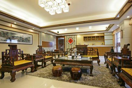 贵阳云城尚品 实木打造新中式奢华家