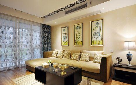 甘肃紫苹果装饰120平米新中式装修案列