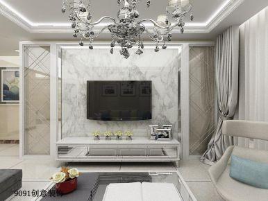 合肥城市之光 现代风格家庭装修设计效果图