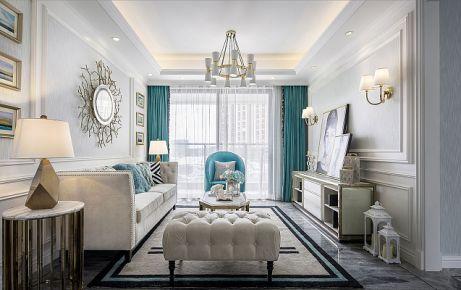 深圳锦绣御园 欧式风格家庭装修设计效果