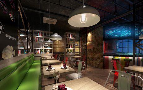 深圳休闲餐厅装修效果图 休闲餐厅装修设计