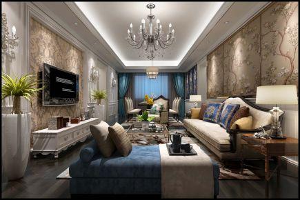 深圳豪峰欧式风格家庭装修效果