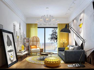 深圳东乐花园 欧式风格家庭装修设计效果图