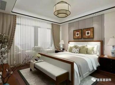 低调且奢华的新中式家庭装修设计效果图欣赏