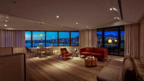宁波三江观邸 二居室现代风格装修设计效果图