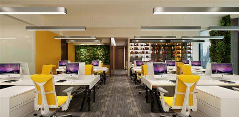深圳金融中心现代中式风格办公室装修