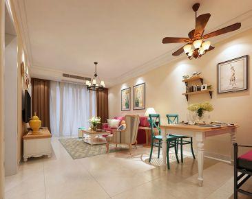 无锡凤凰熙岸 三居室欧式风格装修设计效果图