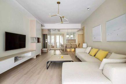 110平米简约清爽原木风,环保、精致、健康的生活空间!