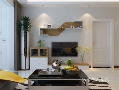 洛阳王城之珠126平三居室现代风格效果图