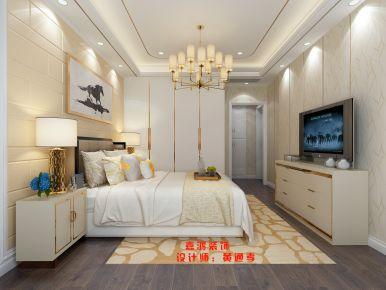温州市平阳县前岩名苑 三居室现代风格装修设计效果图