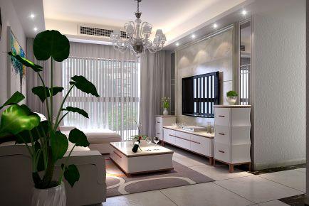 东莞西乡幸福港湾 三居室现代风格装修案例