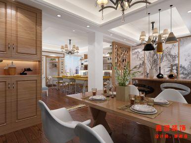 温州市平阳县田园新村 三居室简约风格装修设计效果图