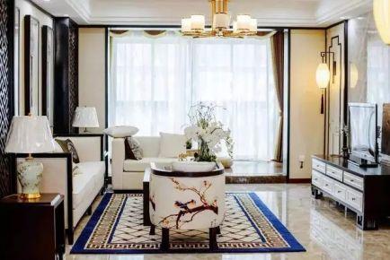 贵阳美丽优雅的中式风三居室装修