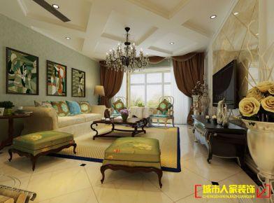 洛阳世纪华阳混搭风格家庭装修设计效果图