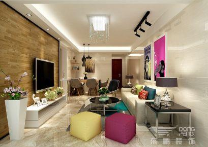 佛山万科金域中央 三居室现代风格装修设计效果图
